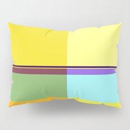 CASUAL YELLOW GEOMETRIC Pillow Sham