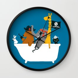 Everybody wants to be the pirate Wall Clock