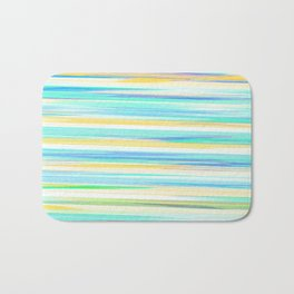 glitch_abstract Bath Mat