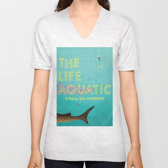 The Life Aquatic Unisex V-Neck