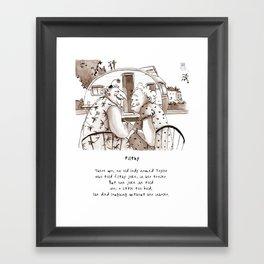 Filthy Limerick Framed Art Print