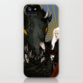 Manon Blackbeak, Crochan Queen iPhone Case