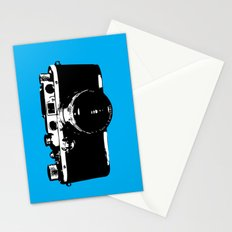 Leica in Blue Stationery Cards