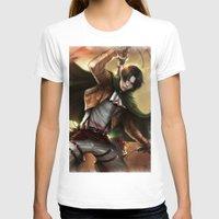 snk T-shirts featuring Levi Heichou by K.Koji