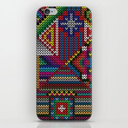 unusual knit iPhone Skin