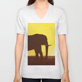 Elephant Unisex V-Neck