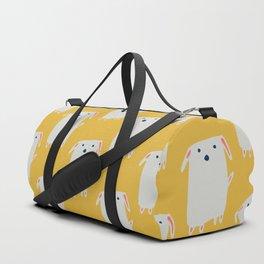 Cute sweet Dog Yellow Duffle Bag