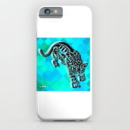 Cougar from the blue Sky ecopop iPhone Case