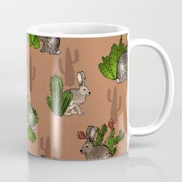 Jackrabbits and Cacti Coffee Mug