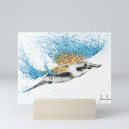 Clever Kookaburra Mini Art Print