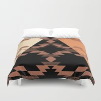 mexico Duvet Covers featuring Mexico by Laura Santeler