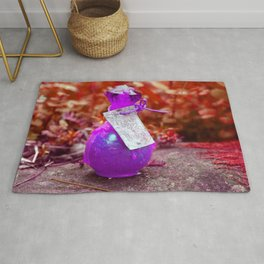 Love Potion- Purple Palette Rug