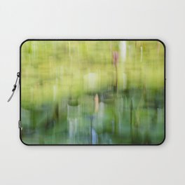 Tropical Impressionism - Lily Pond Laptop Sleeve