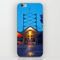 mid century iPhone & iPod Skins featuring Mid-century blurism by Vorona Photography