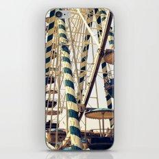 Vintage Ferris Wheel in Marseilles, France iPhone & iPod Skin