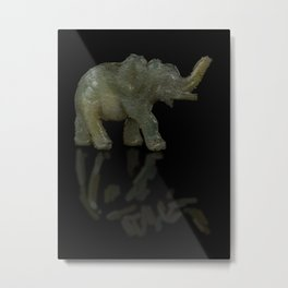 Wax Elephant - 150 Metal Print