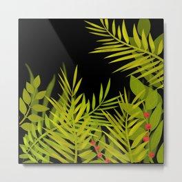The leaves and berries. Metal Print