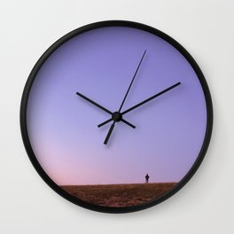 On Top of our World Wall Clock