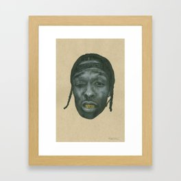 ASAP Framed Art Print