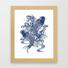 koi Framed Art Print