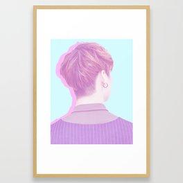 Pastel JB Framed Art Print
