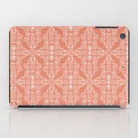peach iPad Cases featuring Peach by katharine stackhouse