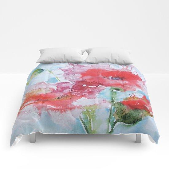 Poppies 04 Comforters