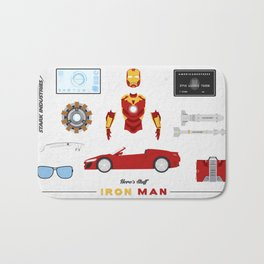 Hero's Stuff - Iron Man Bath Mat