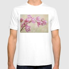 Grace White SMALL Mens Fitted Tee