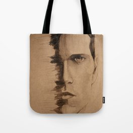 HALF FACE Tote Bag