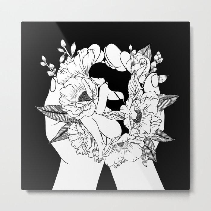 Natural Woman Metal Print