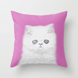 Lord Aries Cat - Photography 002 Throw Pillow