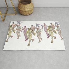 Naked Runners 2 Rug