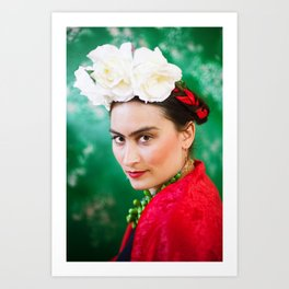 Frida was her name Art Print