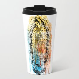 Virgen de Guadalupe, Virgin Mary Travel Mug