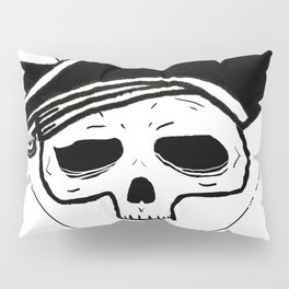 Undead Pirate, pirate skull Pillow Sham