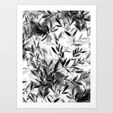 Changes BW Art Print