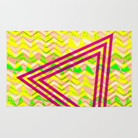 triangle Area & Throw Rugs featuring Triangle. by Mr and Mrs Quirynen