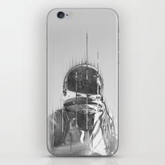 The Space Beyond B&W Astronaut iPhone & iPod Skin