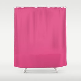 Hydrangea Flower Precious Pink Solid Color Shower Curtain