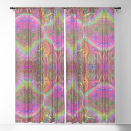 Techno Electric II Sheer Curtain