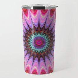 Quadrant mandala Travel Mug
