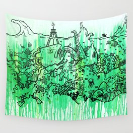 BATTLE ROYALE UNDERWATER Wall Tapestry
