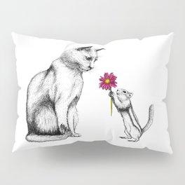 Doting Chipmunk Pillow Sham