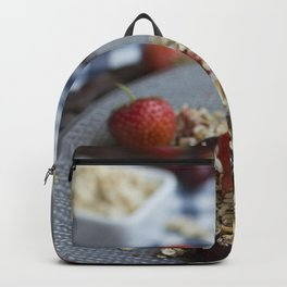 Granola with cherries Backpack