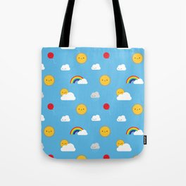 Kawaii Skies Tote Bag
