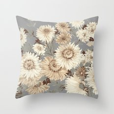 autumn cool Throw Pillow