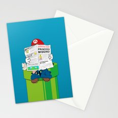 Mario Stationery Cards