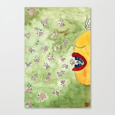 Shit=Carbohydrate Canvas Print