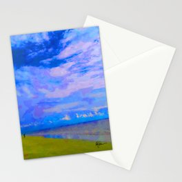 Horizon at Icacos Stationery Cards